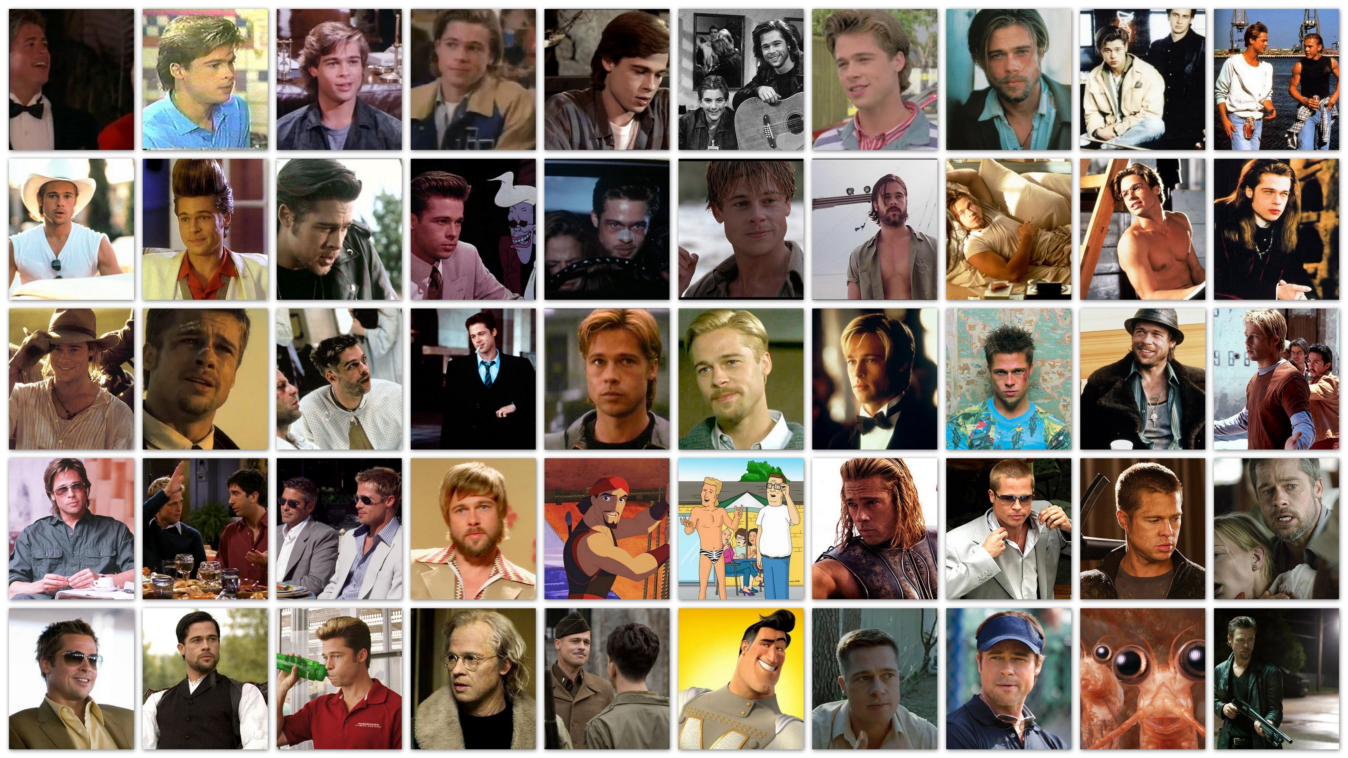 the many faces of brad pitt my filmviews