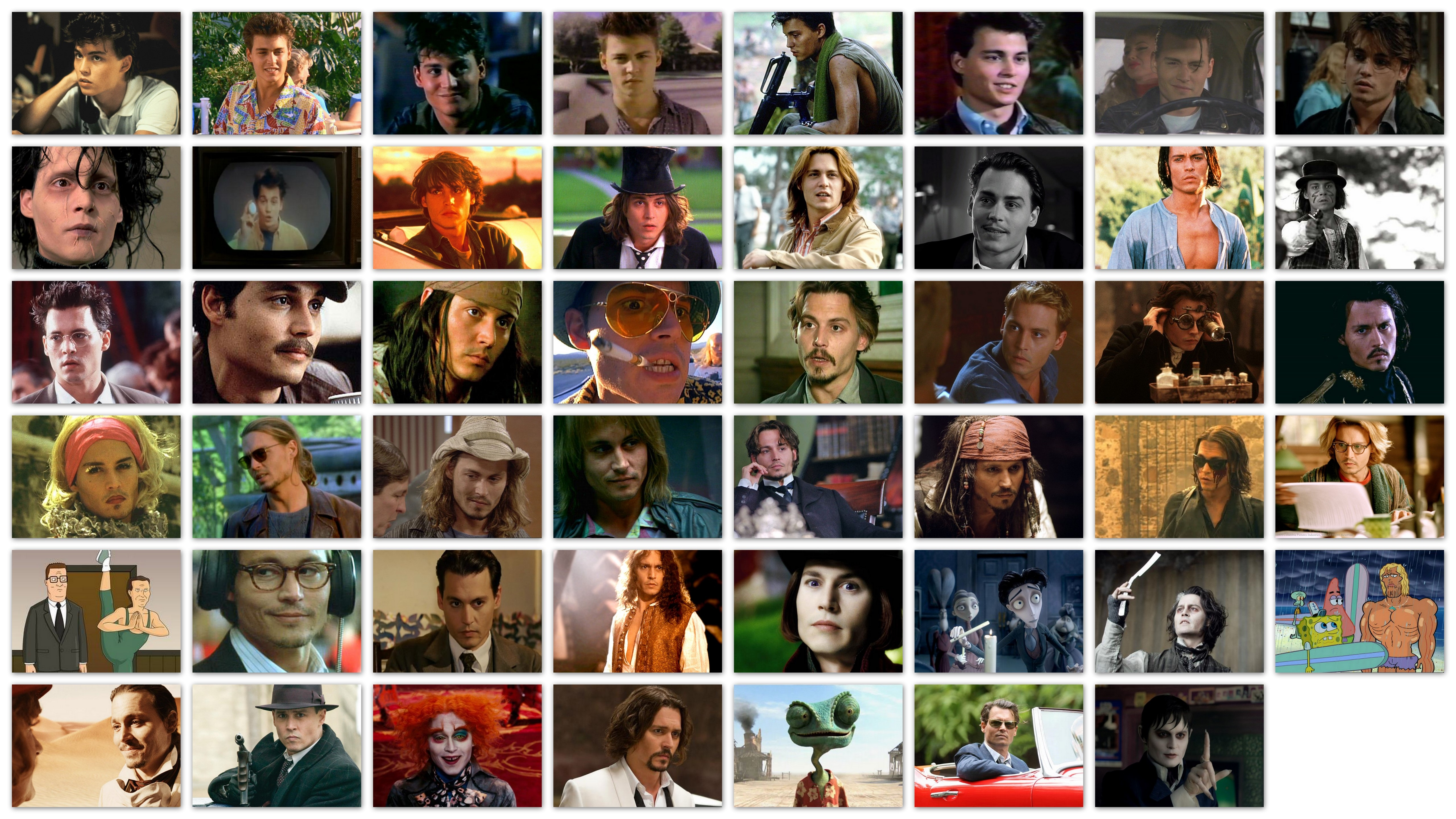 The Many Faces Of Johnny Depp My Filmviews