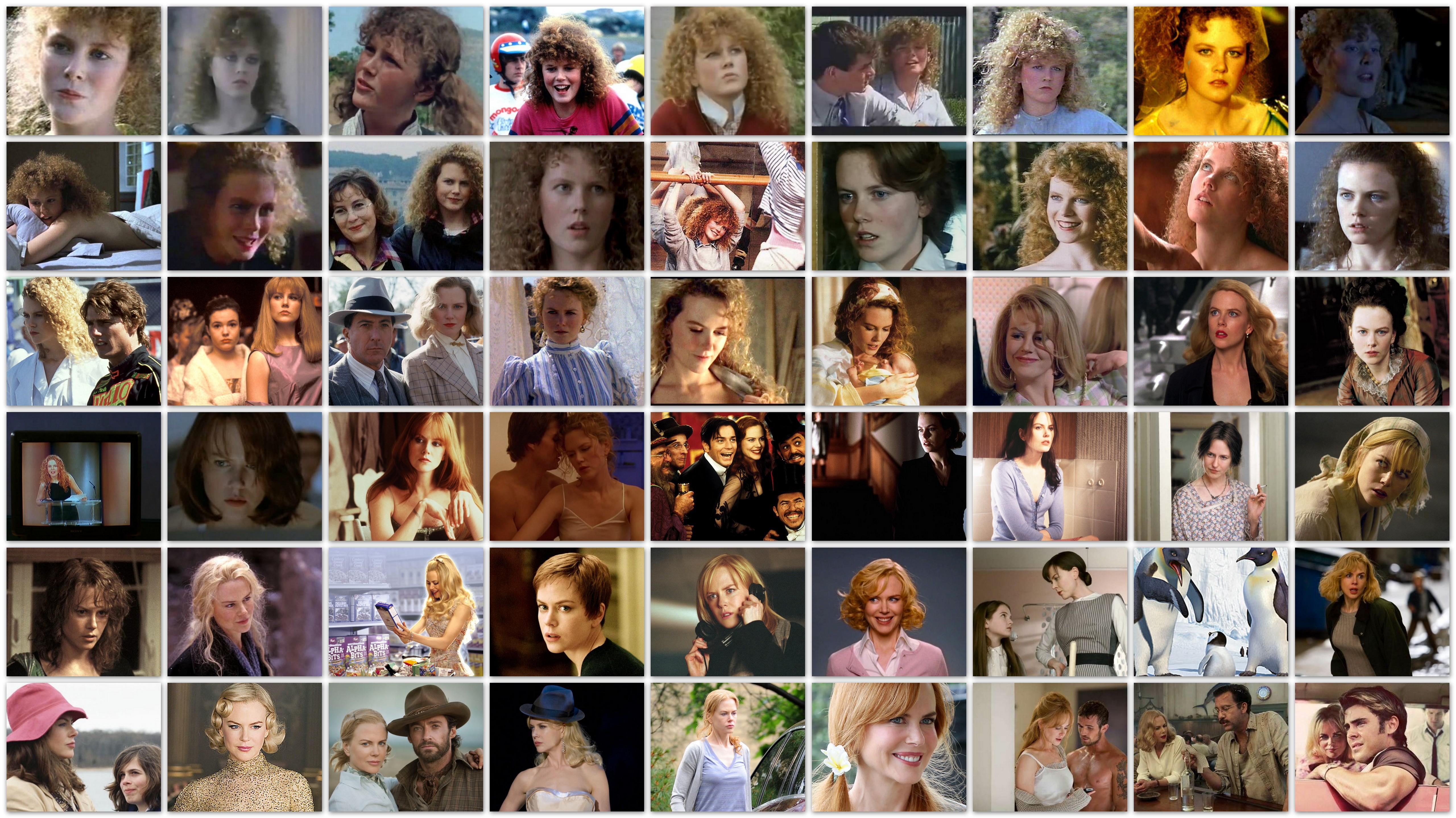 roles of Nicole Kidman